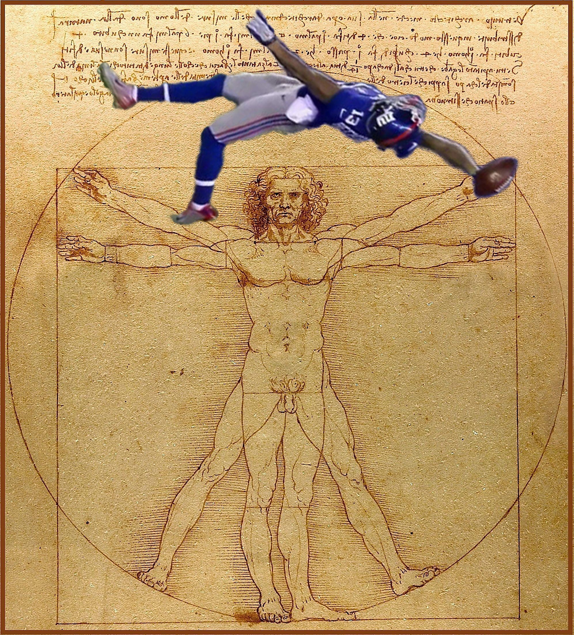 Odell Beckham Jr. Meme. Leonardo Da Vinci