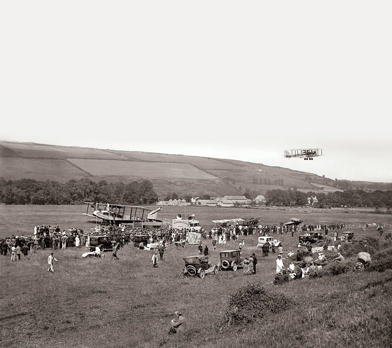 The Photograph Shows The Cobham Air Circus At Ballincollig