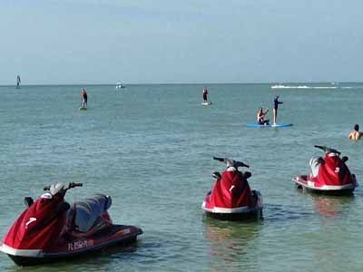 Naples Beach Water Sports Offer Parasailing Waverunner Als And Tours Sup Kayak Located On Vanderbilt Florida