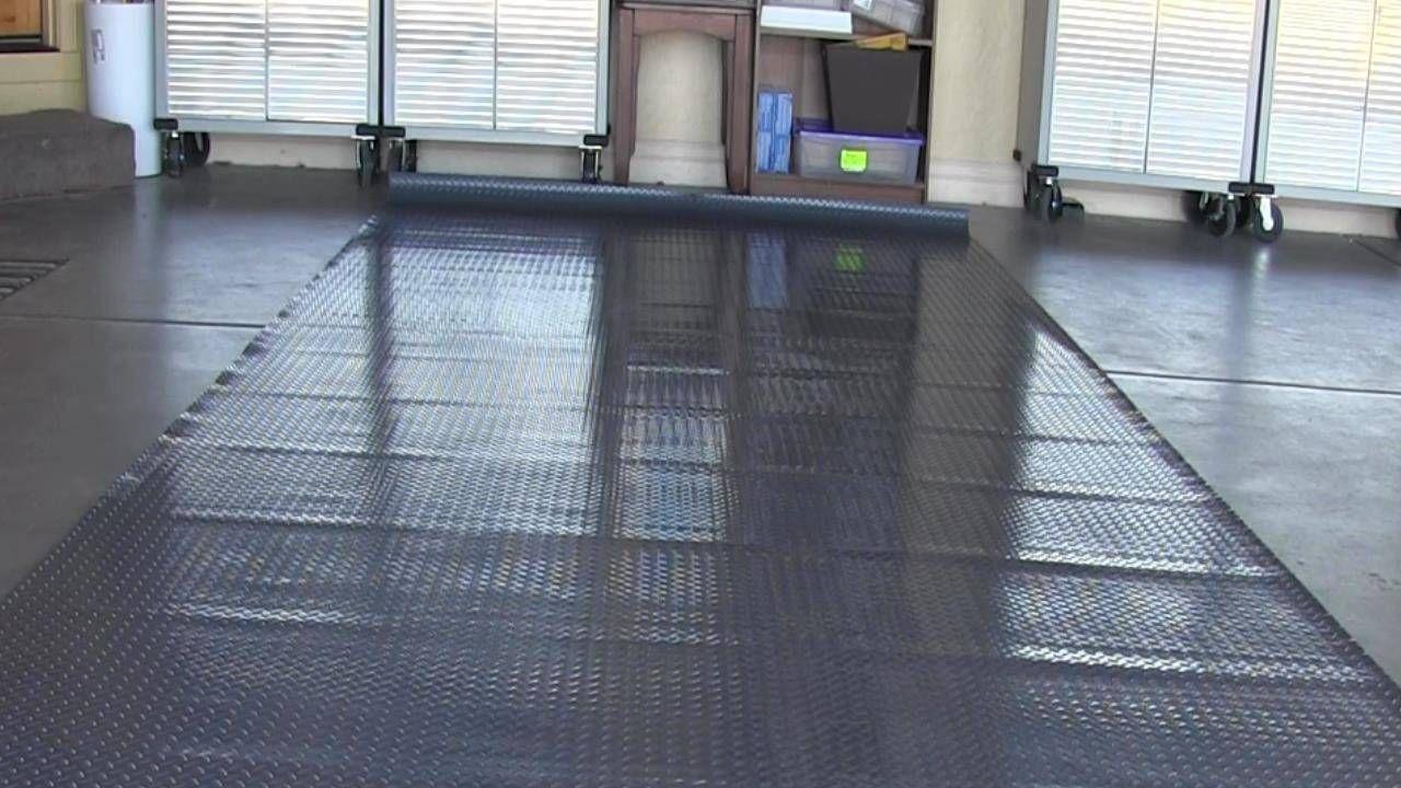 Large Rubber Mats For Garage Floors in 2020 Garage floor