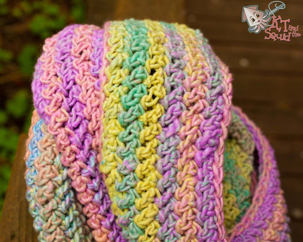 Crochet infinity scarf free pattern | Crafts | Pinterest