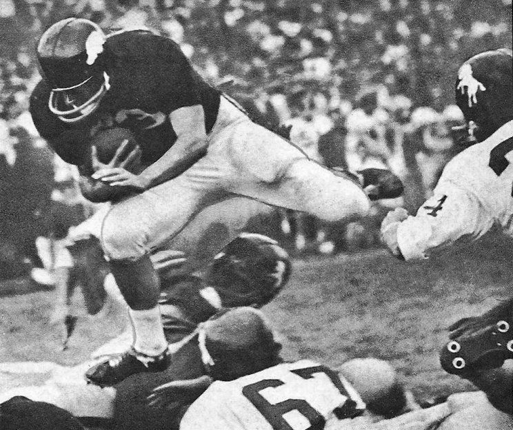 Arkansas vs. SMU in the '60's, Southwest Conference (now