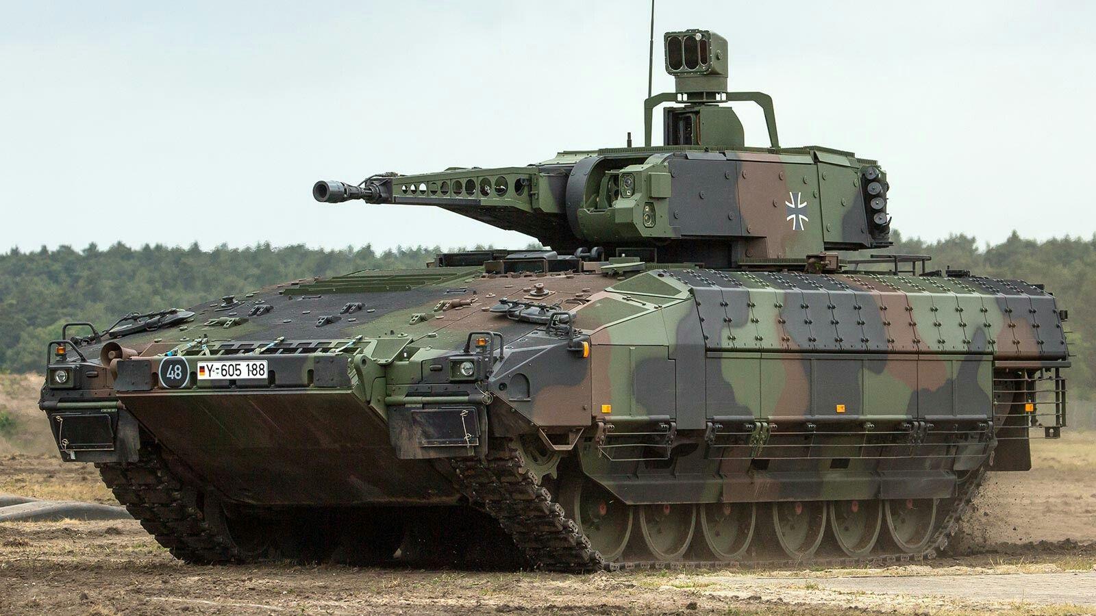 Kmw Rls Spz Puma Ifv Schutzenpanzer With Rwm 30mm Mk 30 2