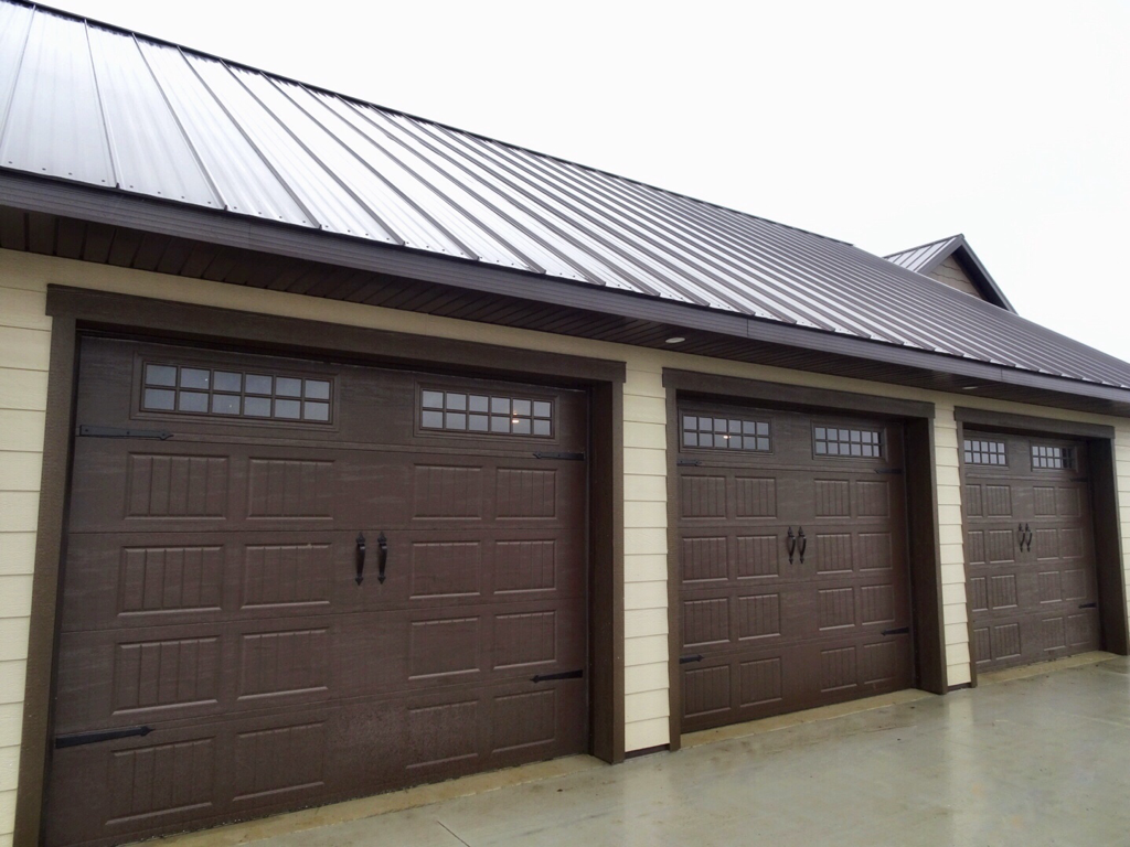 Amarr Designerus Choice in Brown Garage Door Installed by Augusta