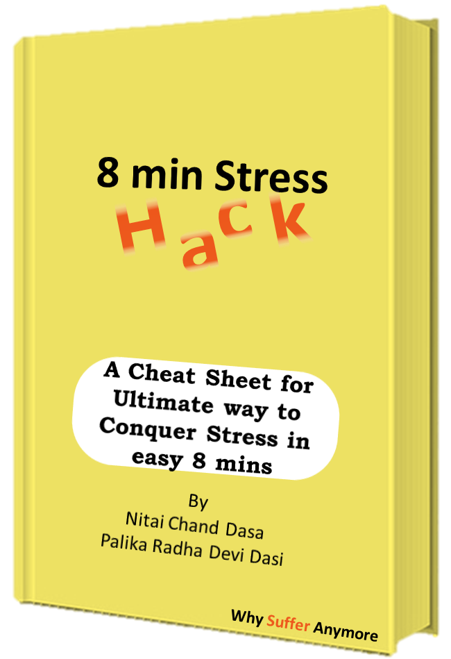 A cheat sheet for Ultimate way to Conquer Stress in easy 8 mins