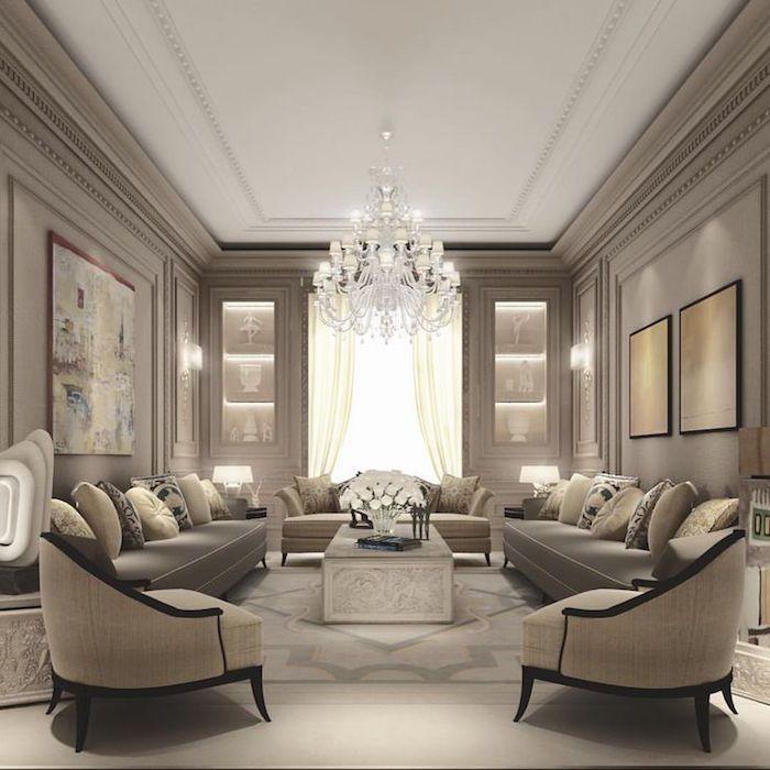 ▷ 1001+ idées | INSPIRED LUXURY INTERIOR DECOR | Salon de ...