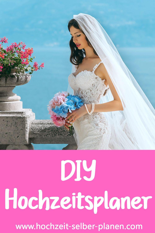 Diy Hochzeitsplaner Mappe Mit Videoanleitung Hochzeit Braut Hochzeitsplanung