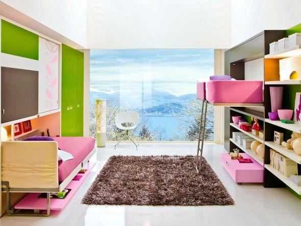 Gestaltungsideen für schmale Räume | Schmal, Raum und Wohn schlafzimmer