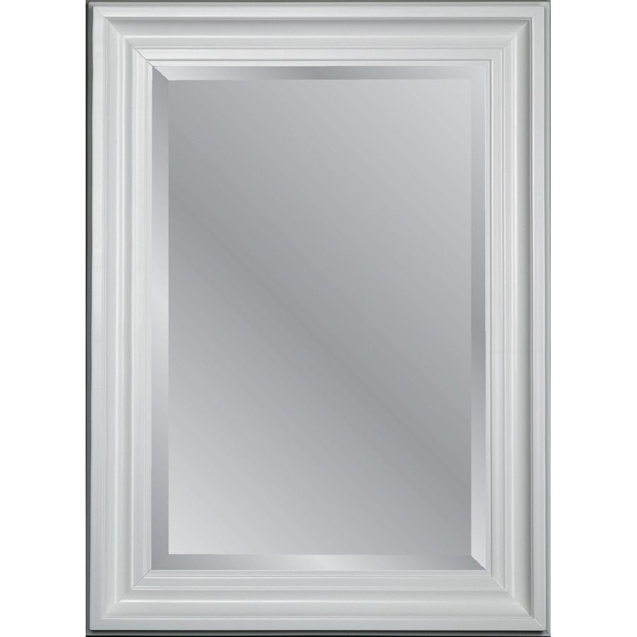 Merveilleux Shop Allen + Roth 95065 X White Beveled Rectangle Framed Country Wall Mirror  At Loweu0027s Canada. Find Our Selection Of Wall Mirrors At The Lowest Price ...