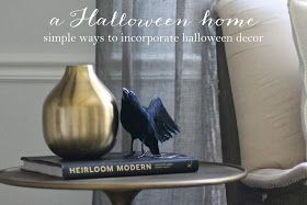 Easy ways to incorporate a little Halloween haunt into your home | Halloween Decor ideas