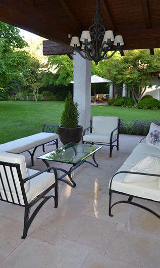 Muebles De Terraza En Fierro Forjado Muebles De Jardín De
