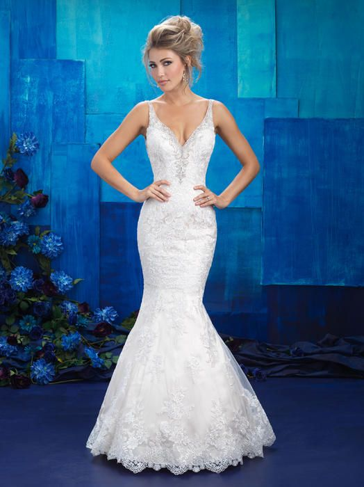 Michigan bridal wedding gown store Allure Bridals 9401 Allure Bridal ...