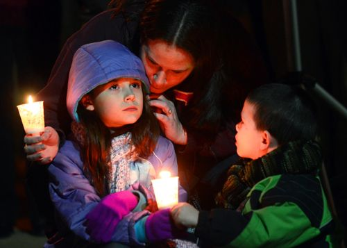 York City vigil for Sandy Hook http://ow.ly/gdNlu