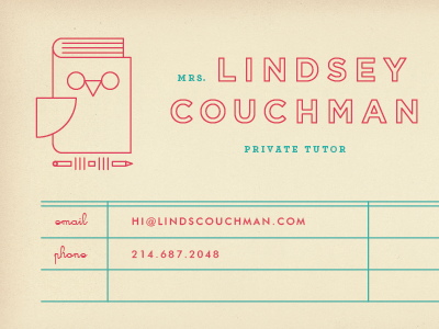 Card business cards business and awesome business cards private tutor business card brent couchman colourmoves