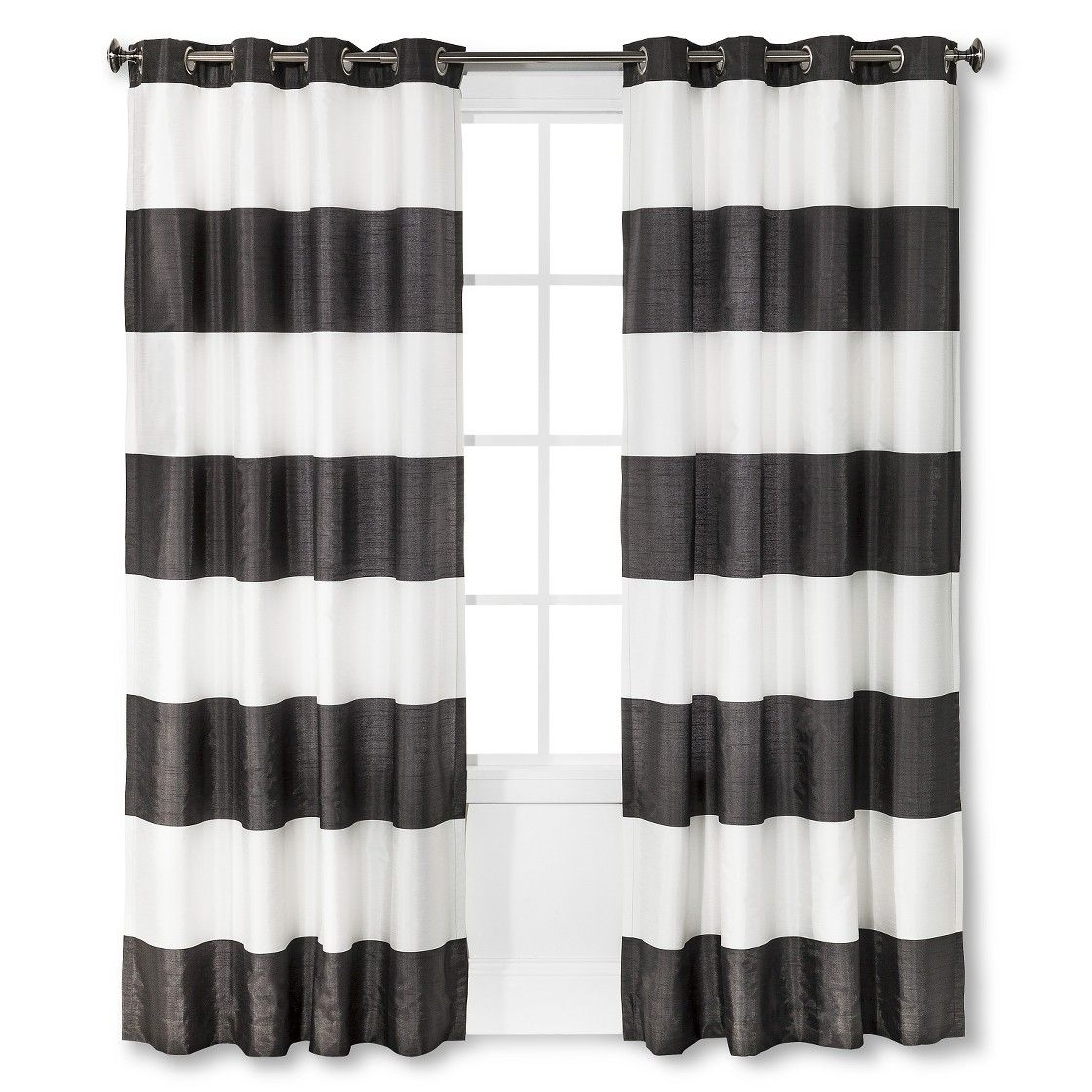 Threshold Bold Stripe Panel Curtains Bold Curtains Curtains