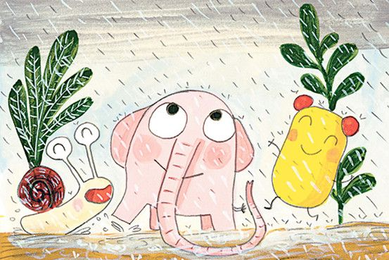 Pomelo Explores Color By Ramona Bădescu Illustrated By Benjamin Chaud Illustration Children S Book Illustration Children Illustration