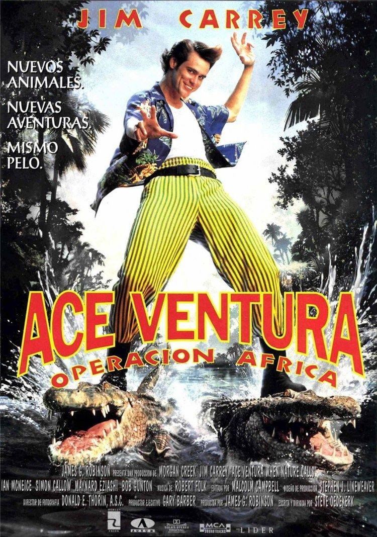 Ace Ventura When Nature Calls Bumblebee Tuna Ace Ventura Cinema