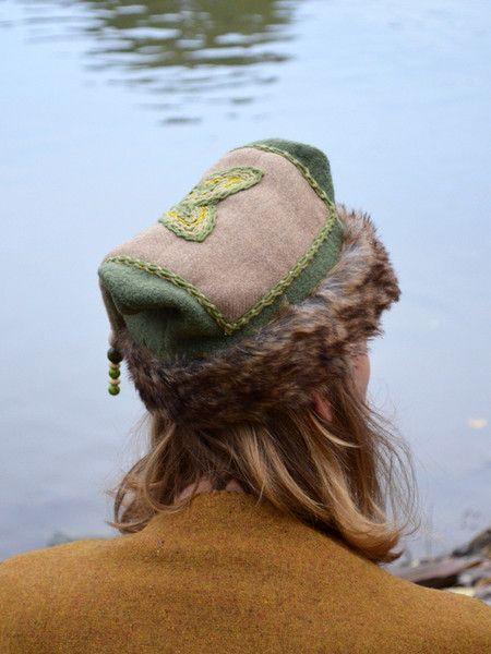 gr ne wikinger m tze green viking hat viking inspiration pinterest. Black Bedroom Furniture Sets. Home Design Ideas
