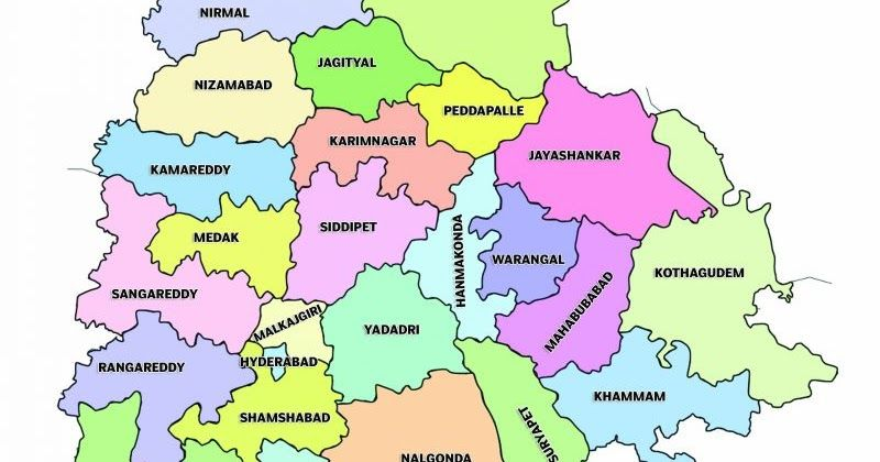 Asifabad District Revenue Mandals in Telangana state: It is