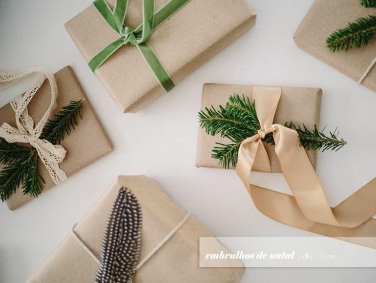 DIY | Embrulhos de Natal
