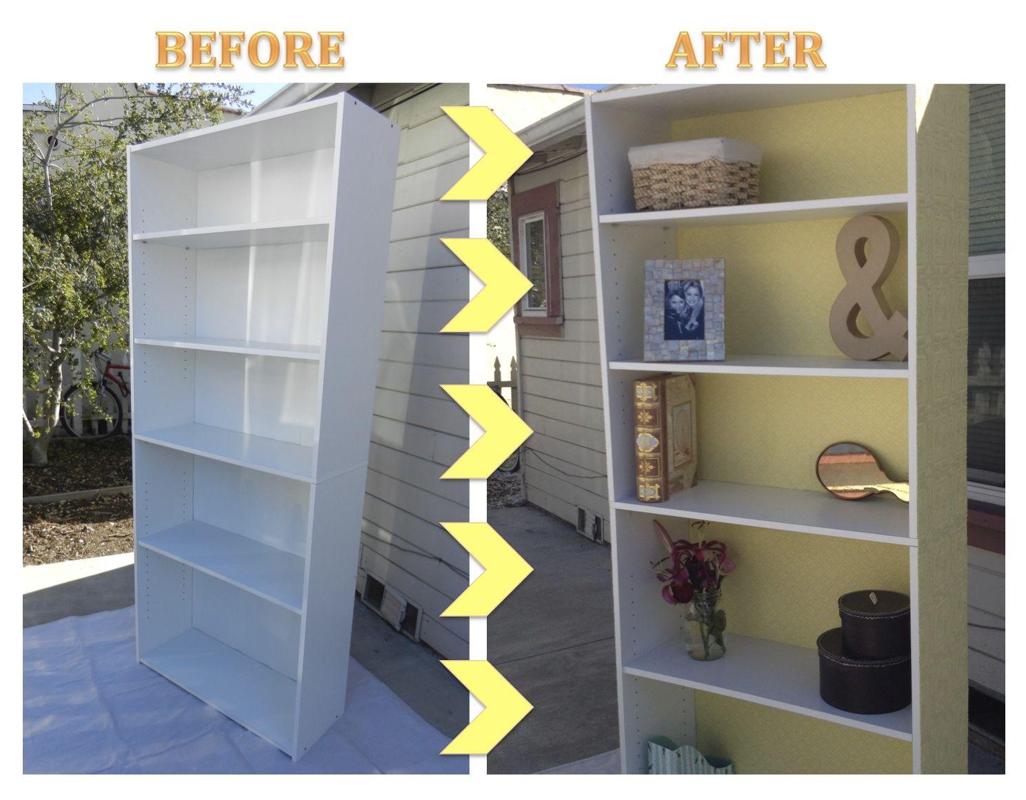 Diy Target Bookshelf Makeover Bookshelf Makeover Diy Headboard