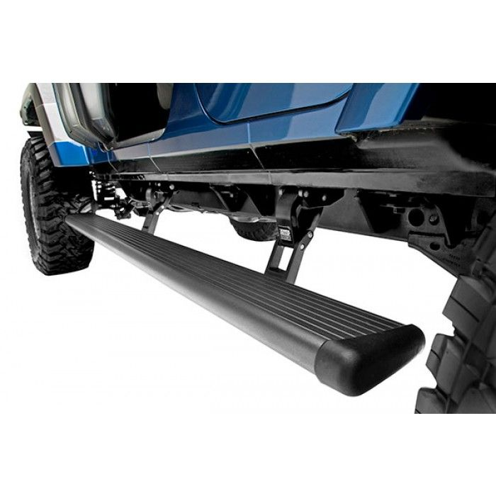 2007 2017 Jeep Wrangler JK AMP Research PowerStep 75122 01A Retractable Running  Boards