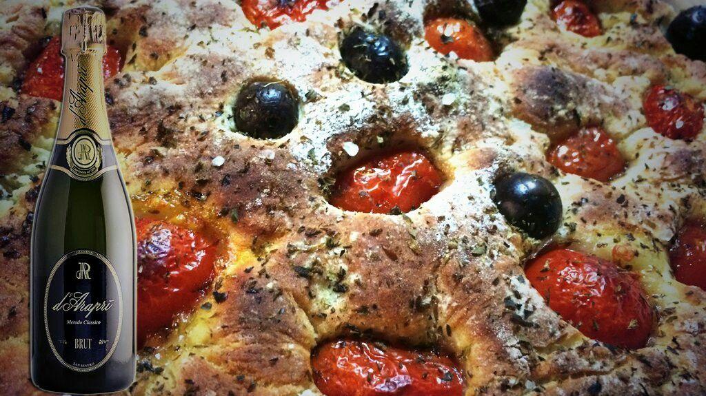 #pizza e #bollicine  #focacciabarese