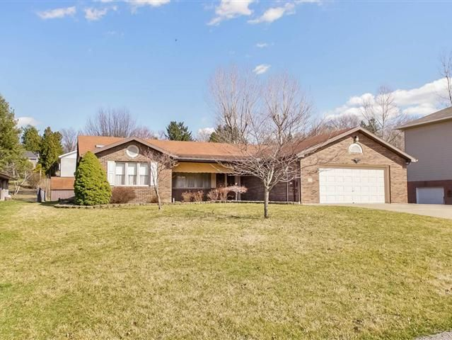 Lovely 3 bedroom 2 bath ranch in Craig Meadows one of South Unions favorite residential neighborhoods Move in ready with a beautiful appeal that offers complete one level living with a large family room with gas fireplace big kitchen with tons of cabinets Corian countertops and spacious center island Expansive master bedroom with walk-in closet and 2 addt storage closets Pella windows with blinds 2 car garage and covered patio perfect for outdoor entertainments Minutes to shopping and dining