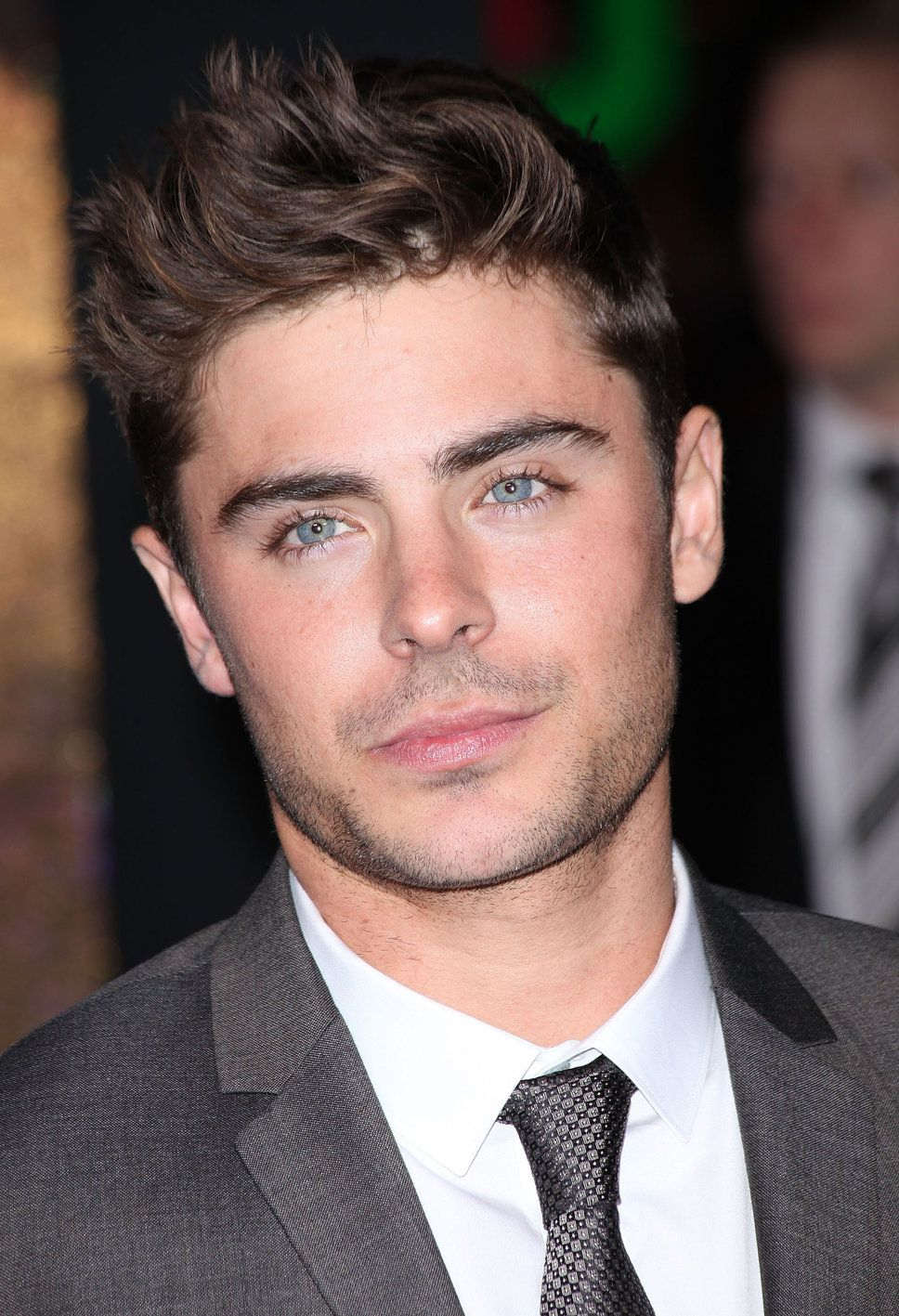 Dark Hair Light Eyes Brown Hair Blue Eyes Blue Eyes Zac Efron