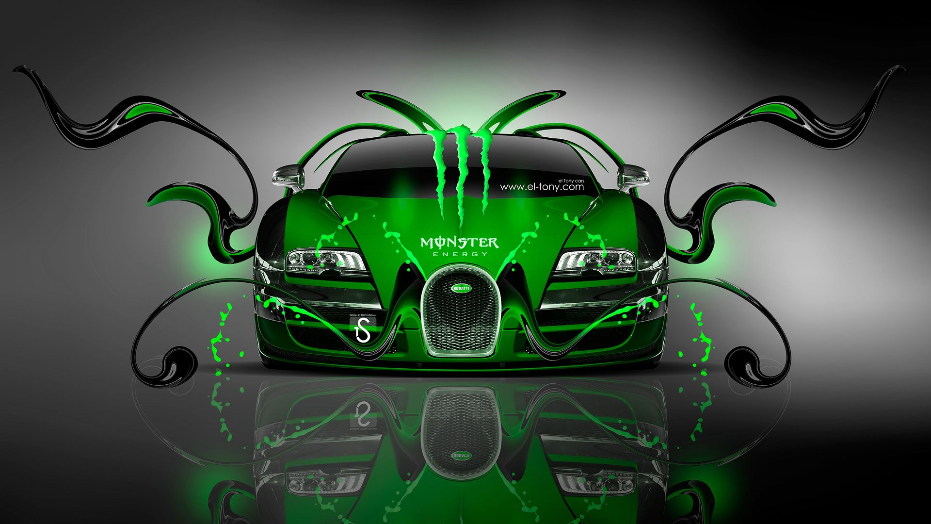 The Bugatti Veyron Was First Mentioned At The 1999 Tokyo Motor Show And The  Caru2026 Monster EnergyCar ...