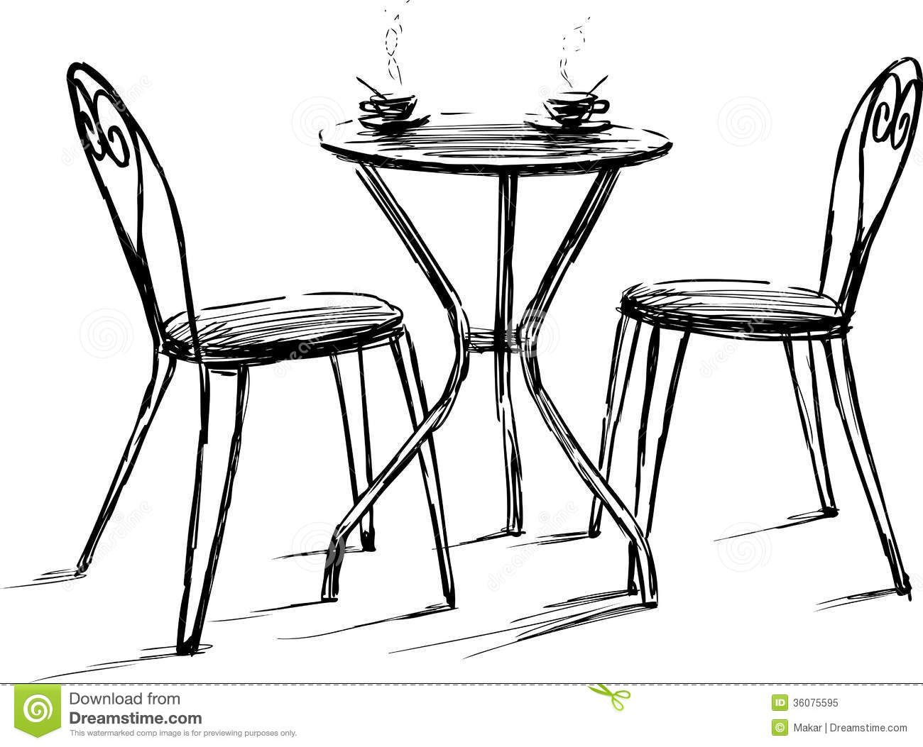 Plan Furniture Vector Free New Design Woodworking French Cafe Cafe Tables Chair