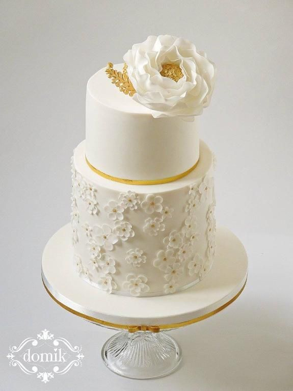 Looking for cake decorating project inspiration? Check out Wedding cake by member Domik6.