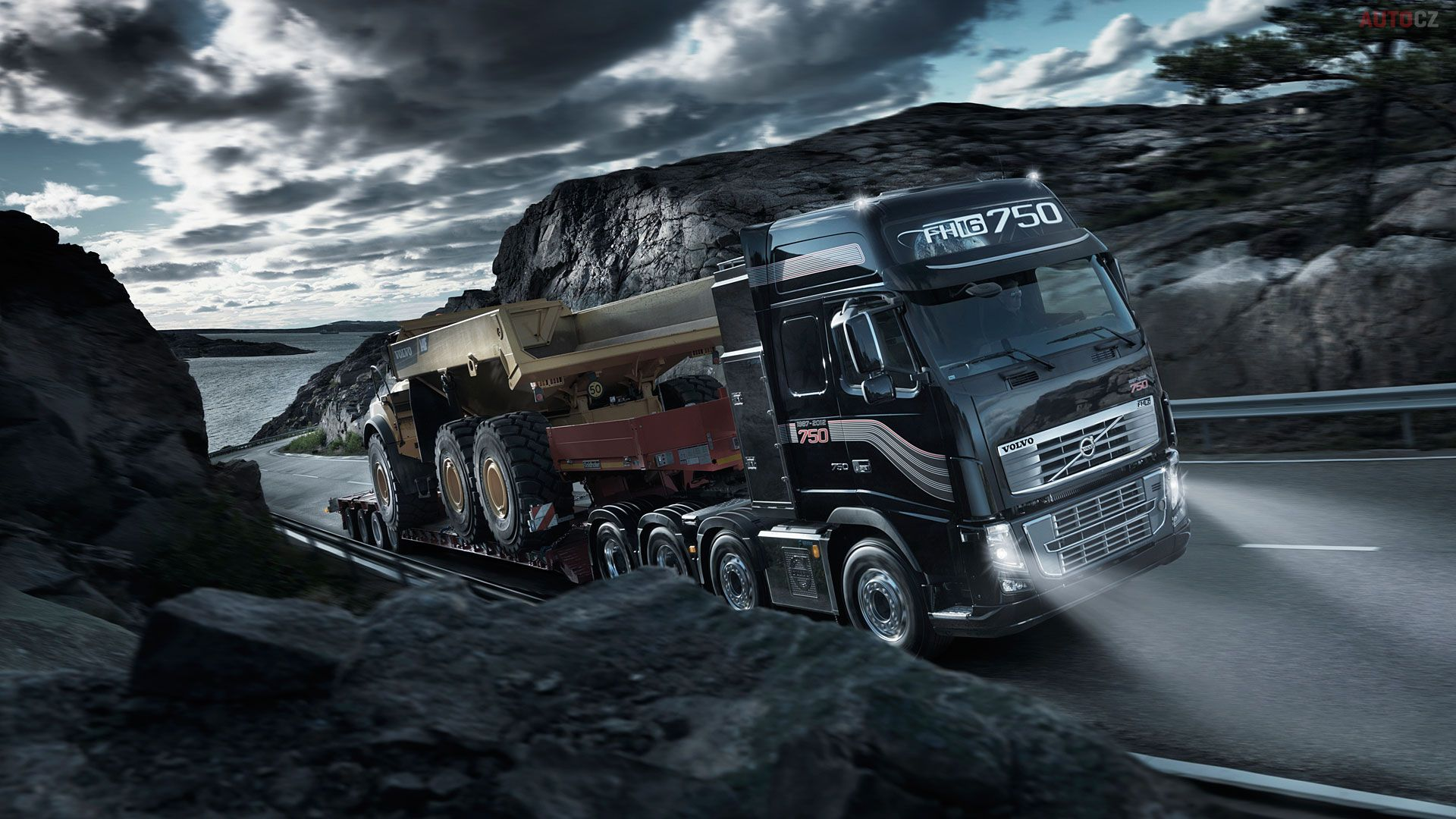 Image For Auto Car Dump Truck Hd Wallpaper Free Download 1920 1080