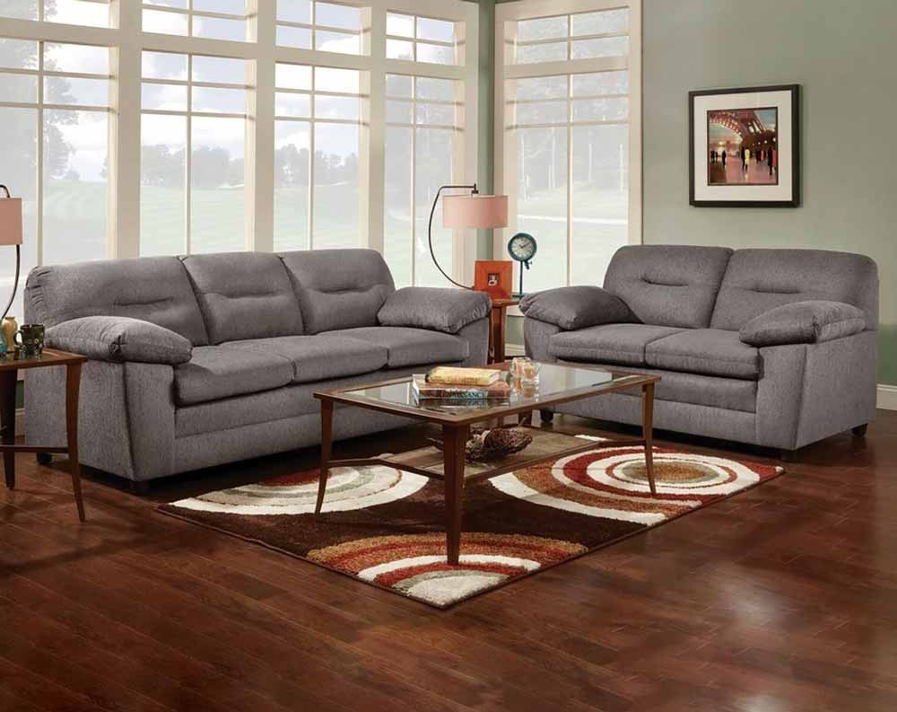 Awesome Cougar Gray Sofa Loveseat Living Rooms American Gamerscity Chair Design For Home Gamerscityorg