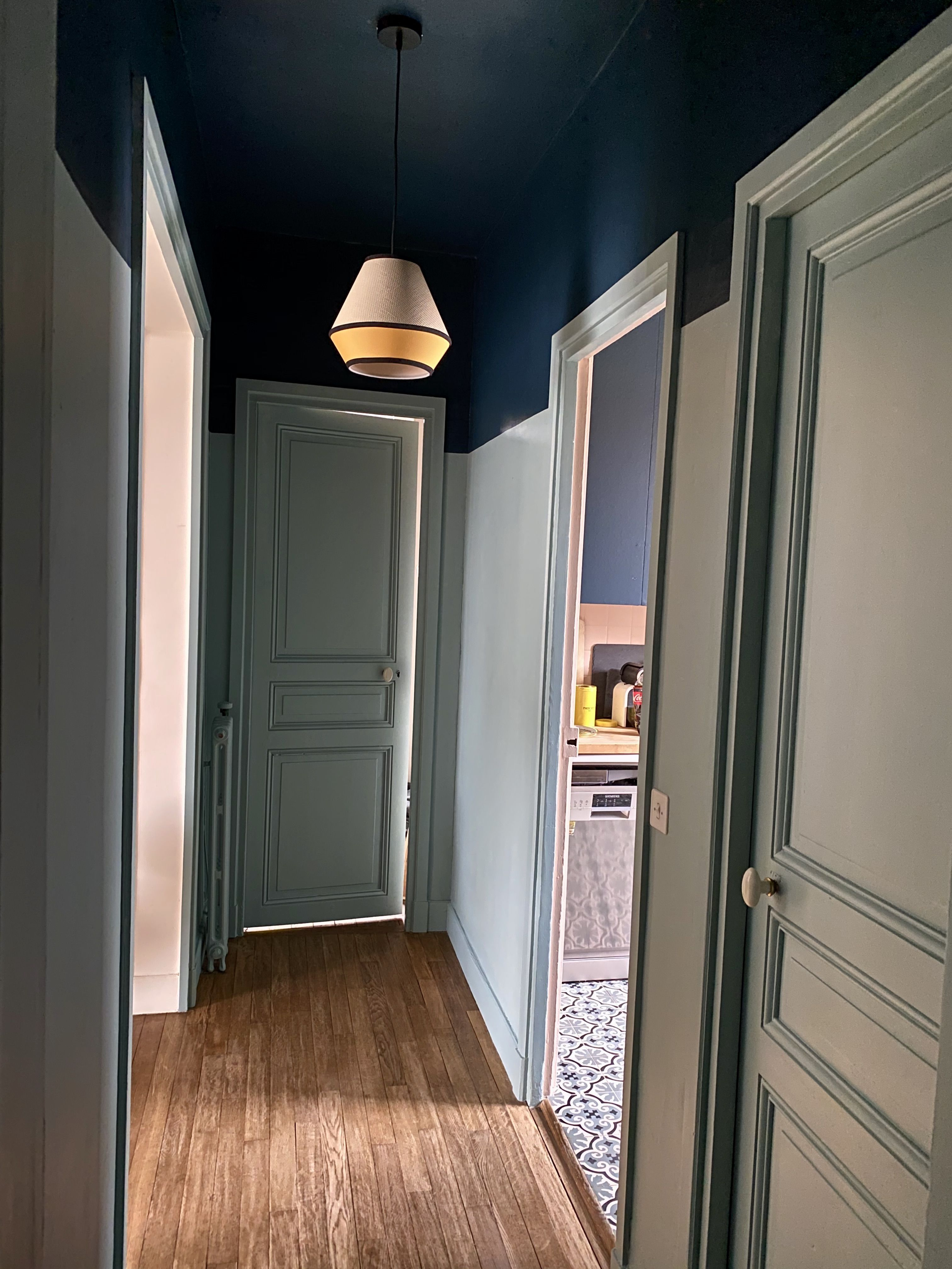 Couloir Hague Blue Dix blue Farrow and Ball in 2020