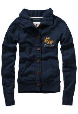 League Collegiate Wear® Women's Button-Up Sweatshirt Cardigan ...