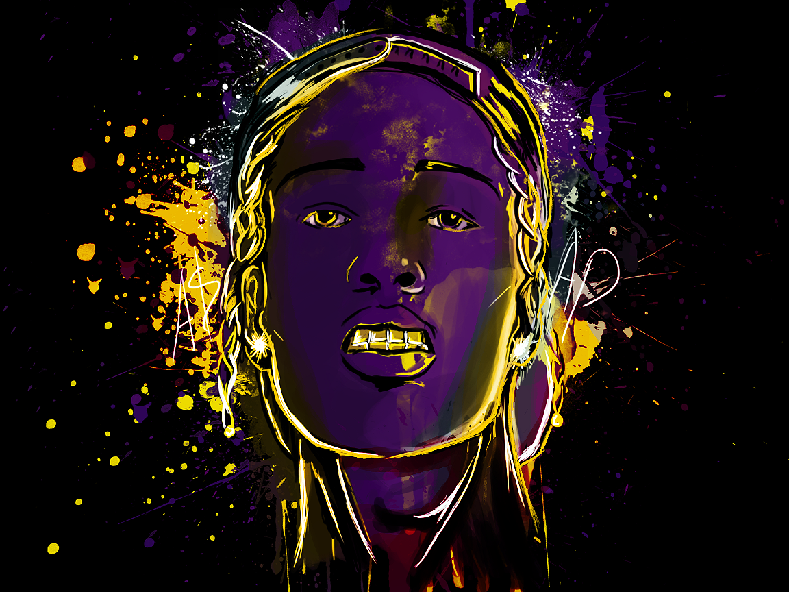 Asap Rocky!!! the second instart addtion