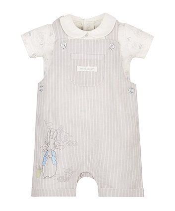 62469f801 Peter Rabbit Bibshorts and Bodysuit Set | Little people clothing ...