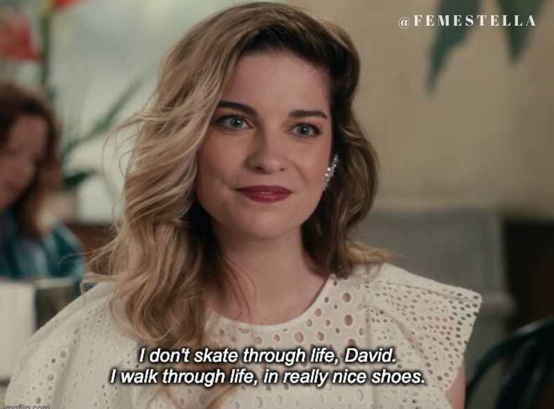 Schitt S Creek 11 Times Alexis Rose Rocked The Perfect Dress Schitts Creek Creek Tv Show Quotes
