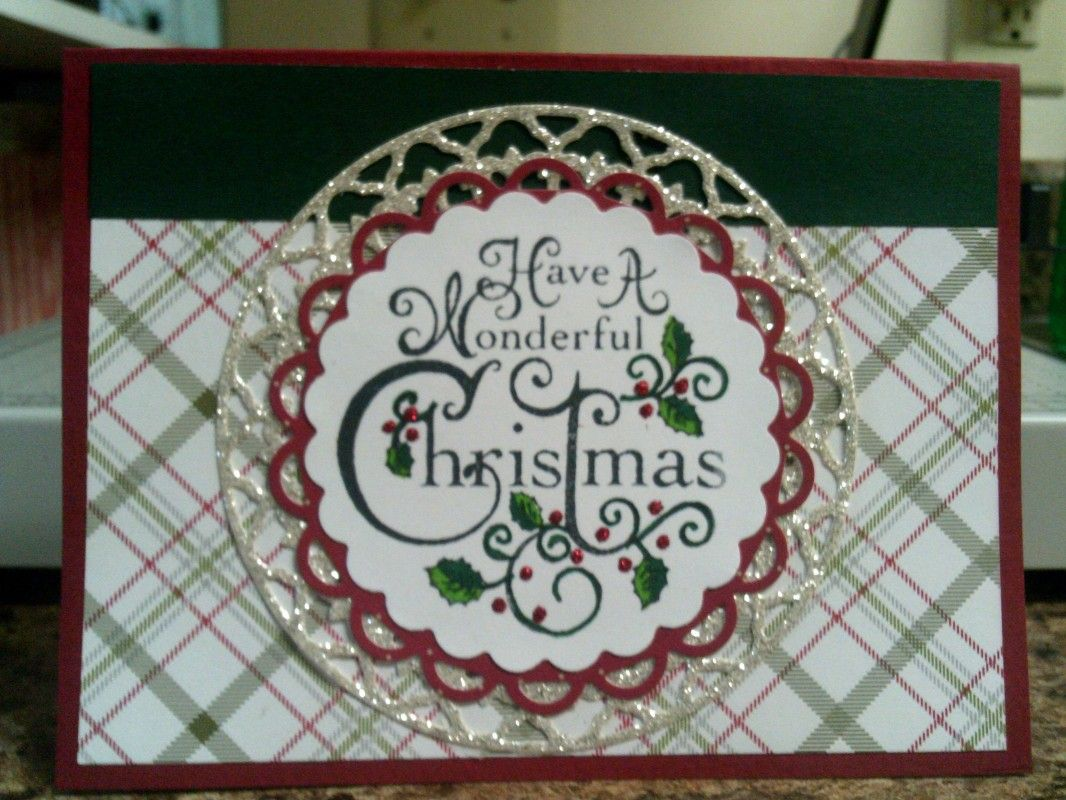 SC564: A Wonderful Christmas by Precious Kitty - Cards and Paper Crafts at Splitcoaststampers