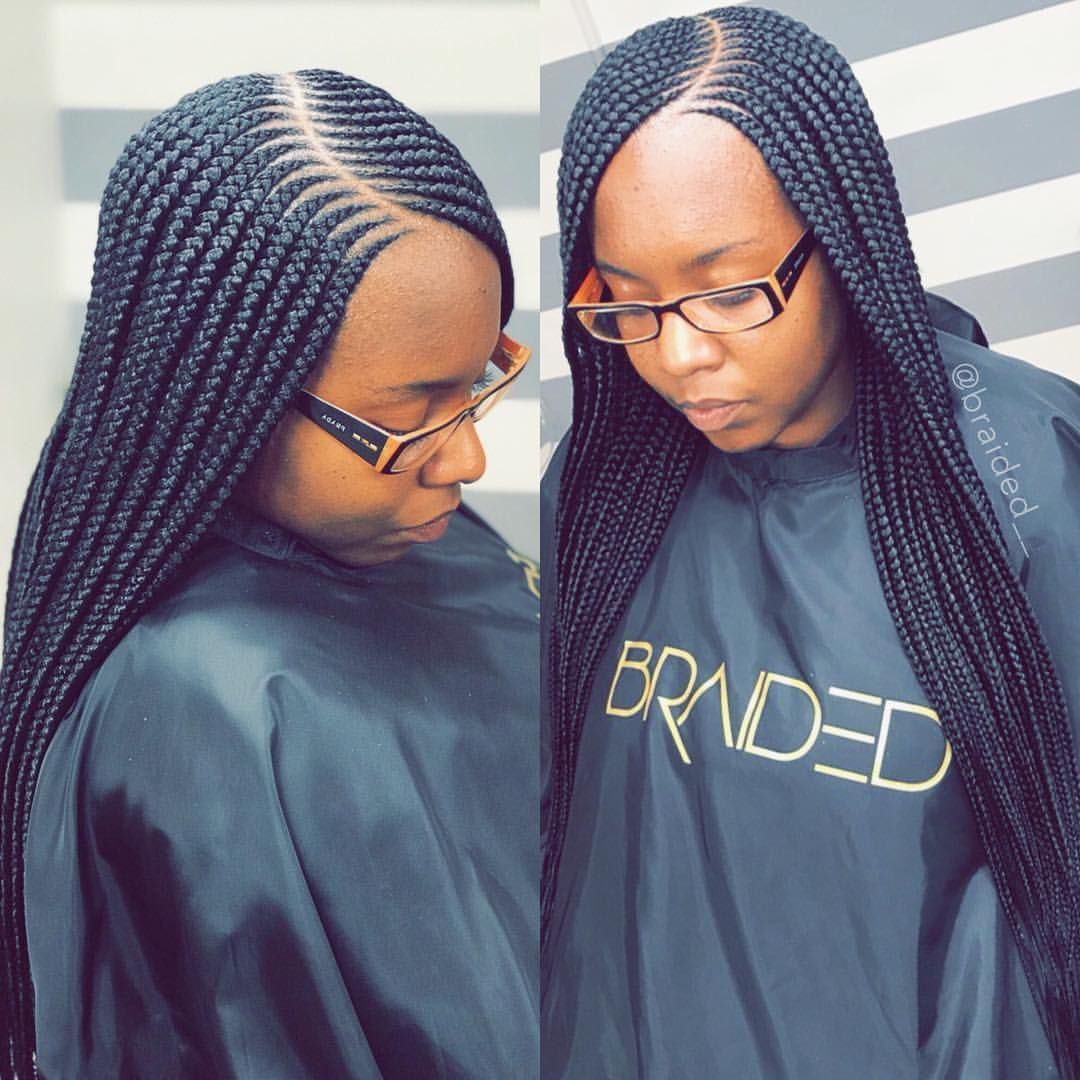 2 Layer Small Feedin Braids Email To Book These Amprogel Braided Hairstyles African Braids Hairstyles African Hair Braiding Styles