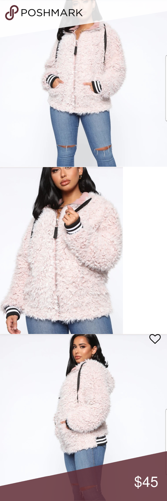 Fuzzy Bomber Jackets Fashion Clothes Design Womens Fashion Shopping [ 1740 x 580 Pixel ]