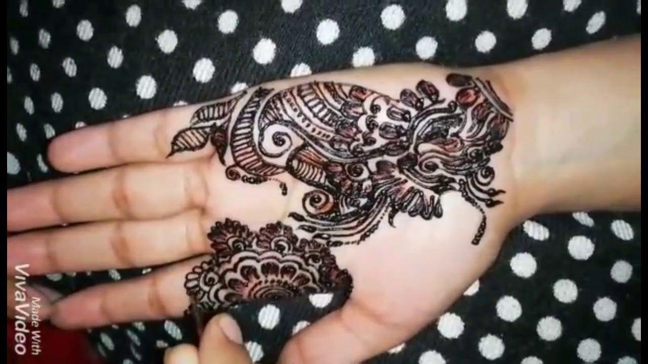 Latest and simple henna mehndi designs front handarabic also rh pinterest