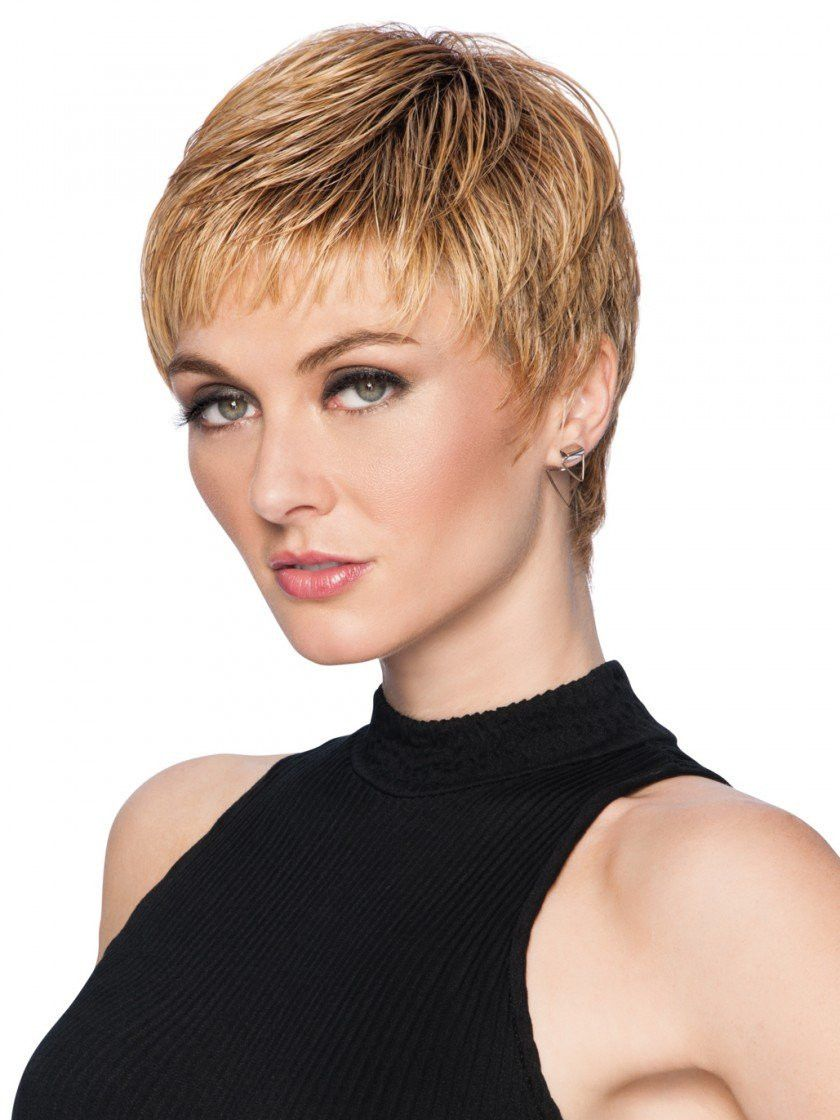 Textured cut short hair hairstyles pinterest wispy bangs wig