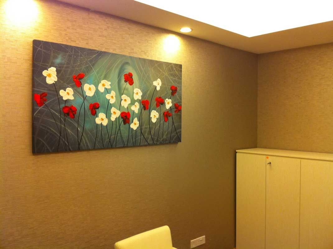Canvas painting ideas for living room - Easy Acrylic Flower Paintings On Canvas Google Search