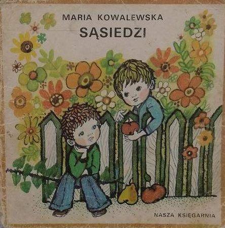 Sasiedzi Maria Kowalewska Poczytaj Mi Mamo Children S Books Vintage Polish Good Old Times