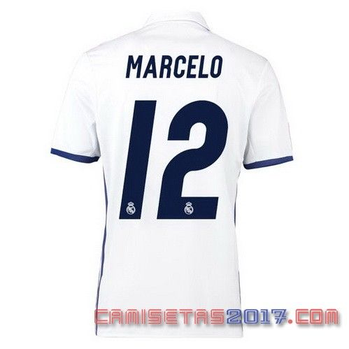 Camiseta MARCELO Real Madrid 2016 2017 primera