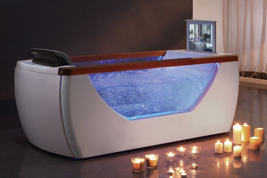 EAGO AM195 Freestanding whirlpool tub with TV - Many other models in ...