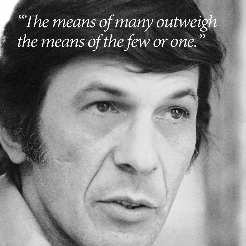 Leonard Nimoy Quotes Fair Leonard Nimoy's Final Tweet Is A Beautiful Way To Remember The