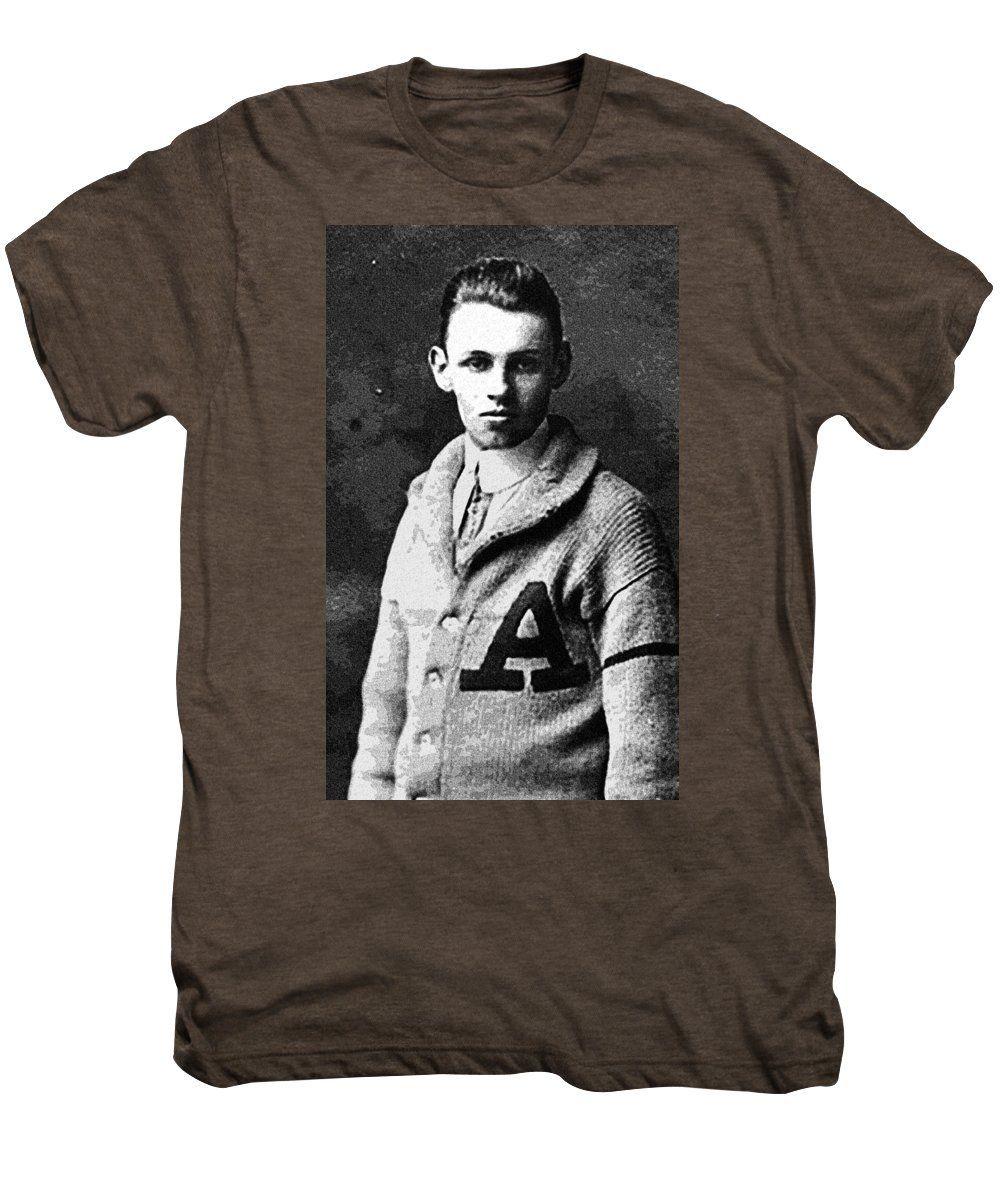 Portrait Of A Youth 59 By Adam Asar - Asar Studios - Men's Premium T-Shirt
